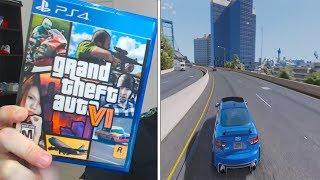 New GTA 6 (Gameplay) on Youtube?