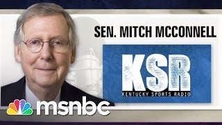 Mitch McConnell's Angry Radio Interview | Morning Joe | MSNBC