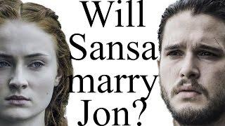 Will Sansa marry Jon Snow?