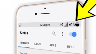 How to Change Android Status Bar with any version (No #ROOT ) Easy to Use