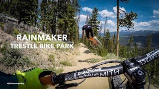 Chainless Lap of Rainmaker | Trestle Bike Park DH