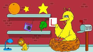 Sesame Street Letters To Big Bird Kids Games Preschool Fun Activities