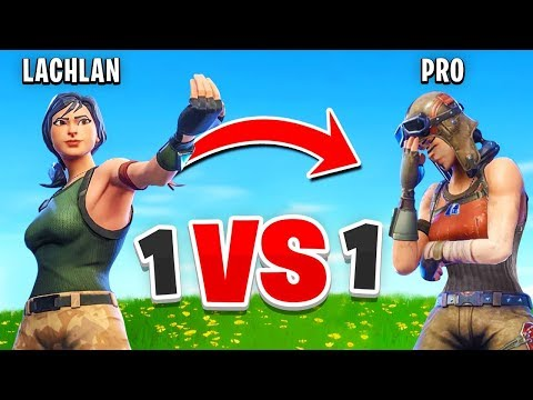 I Challenged a PRO Player to a 1v1 In Fortnite