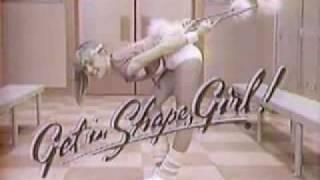 VINTAGE 80'S GET IN SHAPE GIRL COMMERCIAL