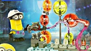 Jelly Lab / Laboratorium - Despicable Me - Minionki - Mega Bloks - CNC76 CNC78 - Recenzja