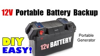 Build Portable Battery Backup Power Pack