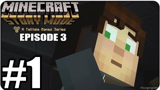Minecraft Story Mode Episode 3 - Gameplay Walkthrough Part 1 [ HD ] - No Commentary