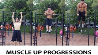 Muscle Up Progressions - BH Bars (Tutorial)