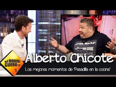 Alberto Chicote repasa los mejores momentos de Pesadilla en la cocina El Hormiguero 3.0