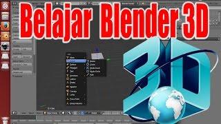 Belajar blender 3D untuk pemula