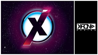 LOGO DESIGN - The X vector logo in Adobe Illustrator