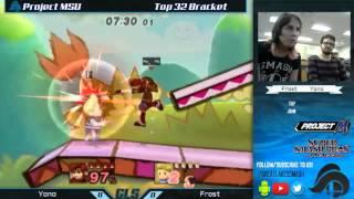 Project MSU Top 32 - Yono (Roy) vs. Frost (Lucas)