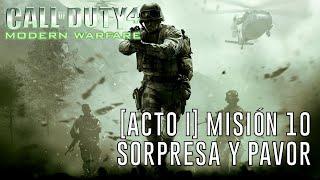 Call of Duty 4: Modern Warfare [Acto I] Misión 10: Sorpresa y Pavor