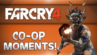 Far Cry 4 CoOp w/ DaithiDeNogla! - Flying Elephants, Rolling Glitch, Dumbo the 4th (Funny Moments)