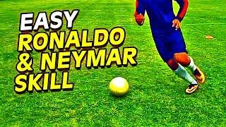 Learn Easy CR7, Ronaldo & Neymar Football Skills & Tricks Tutorial