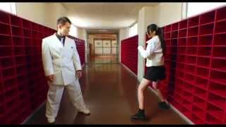Kaede Aono (model) vs Shingo Koyasu (K1fighter) : High Kick Angels