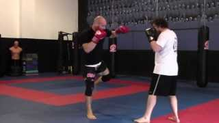 Tutorial: Superman and GSP punch Muay Thai Punch