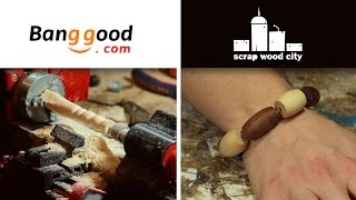 Reviewing a multitool from Banggood and making a wood bracelet with it