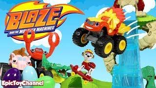 SURPRISE TOYS MAGIC Blaze Wild Wheels Surprises & Lion Blaze Surprise Eggs + Surprise Toys for Kids