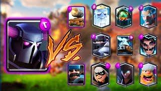 PEKKA VS ALL CARDS IN CLASH ROYALE   PEKKA 1 ON 1 GAMEPLAY