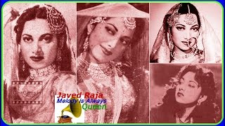 *.SURAIYA~Film~NAACH~{1949}~Aaja More Baalma Bahana Karke~[ Great Gem ]