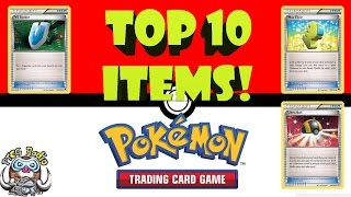Top 10 Items in the Pokémon Trading Card Game (TCG)
