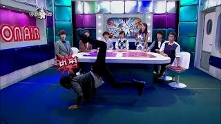 【TVPP】L(INFINITE) - Show Scorpion Dance, 엘(인피니트) - 전갈 춤 시범 @ Radio Star