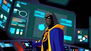 Justice League Unlimited - Future Static