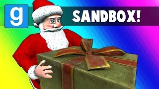 Gmod Sandbox - Delivering Presents with Santa! (Garry's Mod Funny Moments)