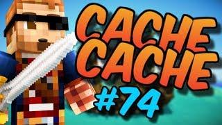 CACHE CACHE SUR MINECRAFT ! MAP PIRATE 2 ! EPISODE 74 !