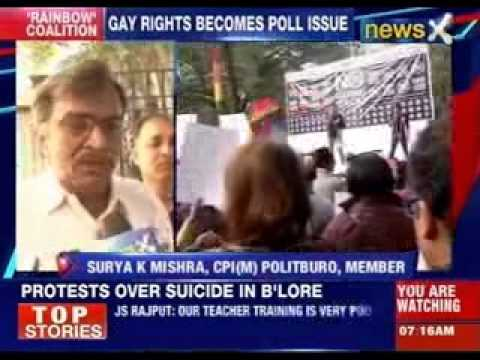 Gay rights becomes poll issue