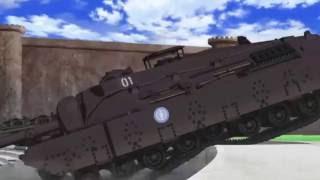 T95 IN ACTION! (Girls und Panzer)
