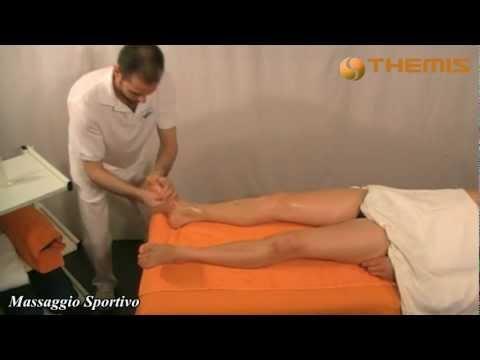 Massaggio Sportivo dimostrazione