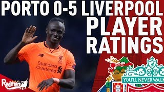 Mane Hattrick, Man of the Match! | Porto v Liverpool 0-5 | Player Ratings