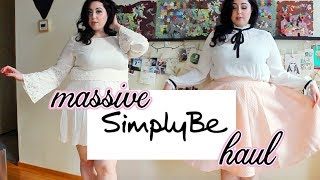 Simply Be Plus Size Try on Haul
