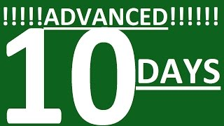 BECOME ADVANCED SPEAKER IN 10 DAYS. SPEAKING ENGLISH FLUENTLY. HOW TO LEARN ENGLISH SPEAKING EASILY