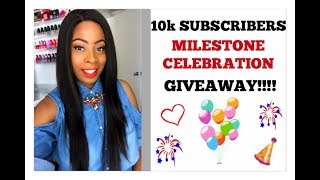(CLOSED) 10K SUBSCRIBERS MILESTONE CELEBRATION | HOSTING 5 GIVEAWAYS!!!