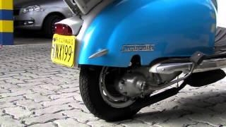 Lambretta LI 1963 Série Brasil 100% restaurada em funcionamento.