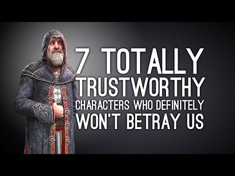 7 Totally Trustworthy Characters Who Definitely Won't Betray Us