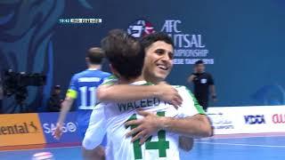 Iraq 4-4 Uzbekistan (AFC Futsal Championship 2018: 3rd/4th Placing)