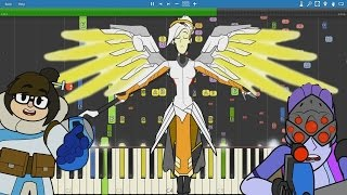 IMPOSSIBLE REMIX - OVERWATCH : No Mercy - The Living Tombstone - Piano Cover