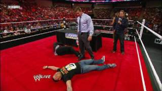 Raw GM Jon Lovitz holds a Superstar Search