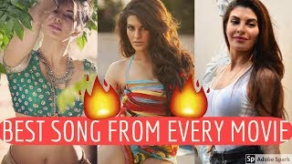 Jacqueline Fernandez BEST Song from EVERY Movie! | Hindi/Bollywood Best Songs Collection Video!