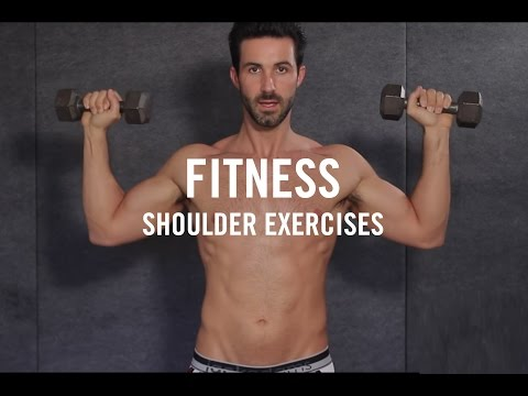 Fitness | Workout In Your Underwear | Workouts At Home | Shoulder Exercises