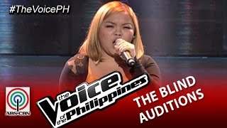 "The Voice of the Philippines Blind Audition ""Listen"" by Mackie Cao (Season 2)"