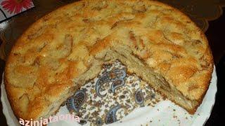 کیک سیب - آشپزی از اینجا تا آنجا با عذر- apple cake
