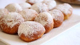 Custard Cream Filled Donuts Ponchiki Пончики Doughnuts Recipe - Heghineh Cooking Show