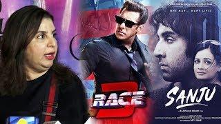 Farah Khan Reaction On RACE 3 Vs SANJU | Salman Khan Vs Ranbir Kapoor