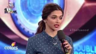 Deepika Padukone Promoting Tamasha Movie On Big Boss PR Copy || Exclusive