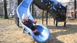 Fun playground for kids children toddler Slides & Baby